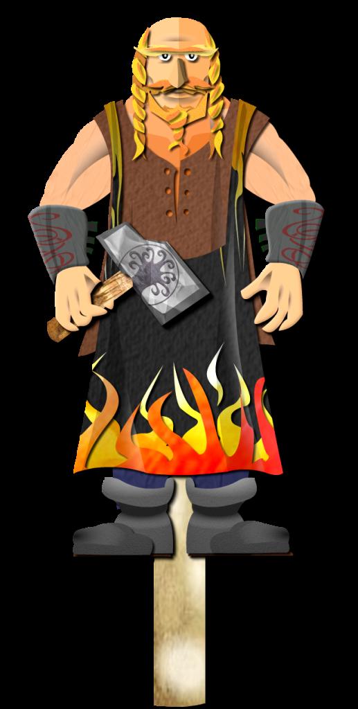 Master Mache the Blacksmith