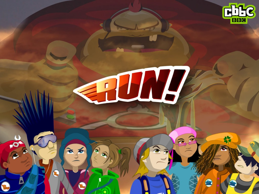 Run! CBBC Wallpaper Image